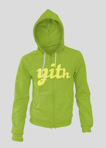 YITH Sweatshirt Trendy green